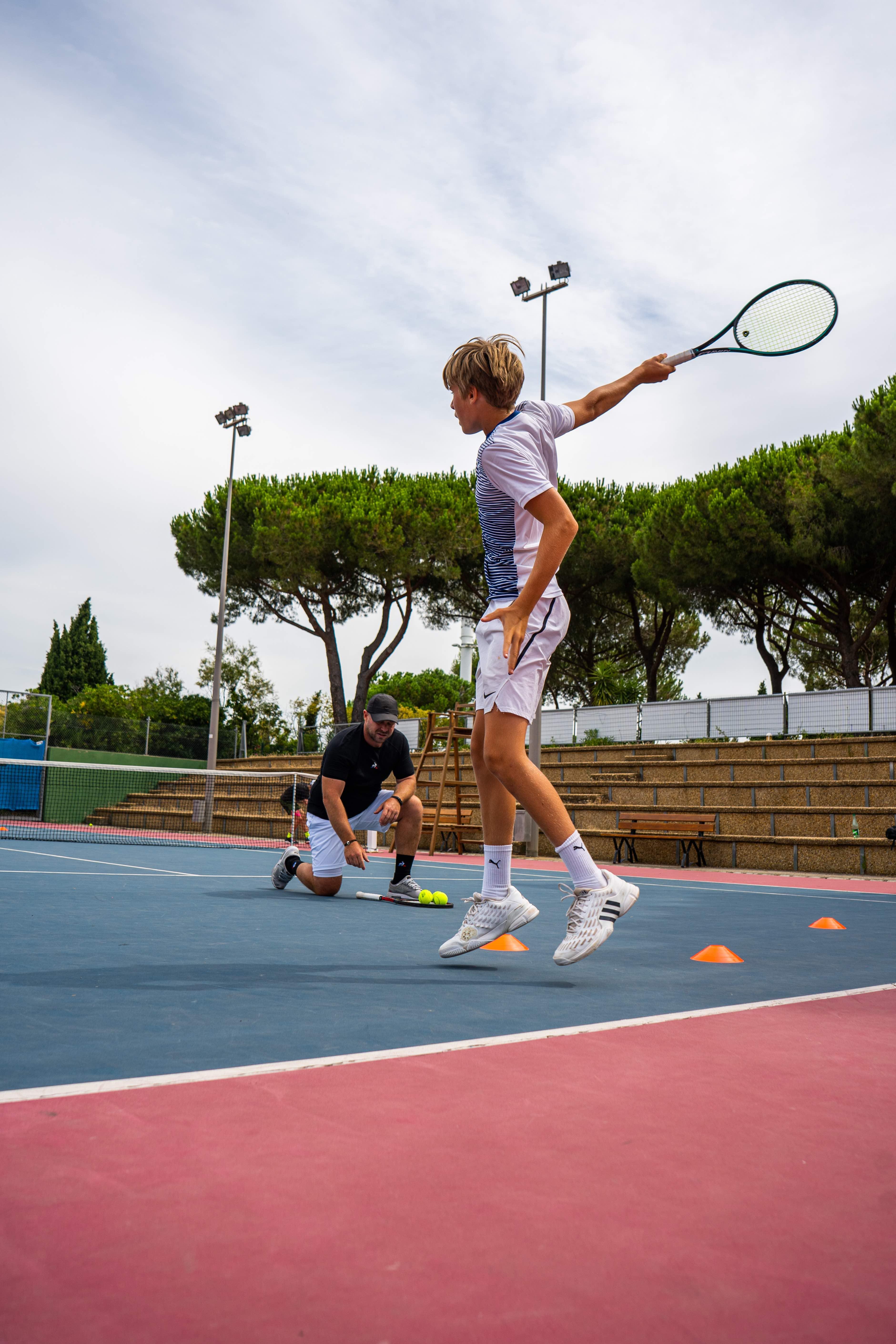 Stage Tennis Intensif + Anglais