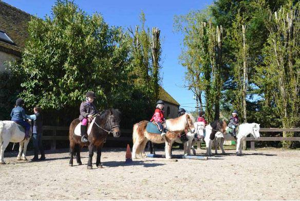 À la ferme et à poney