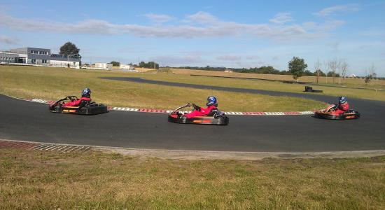 Champion de kart automne