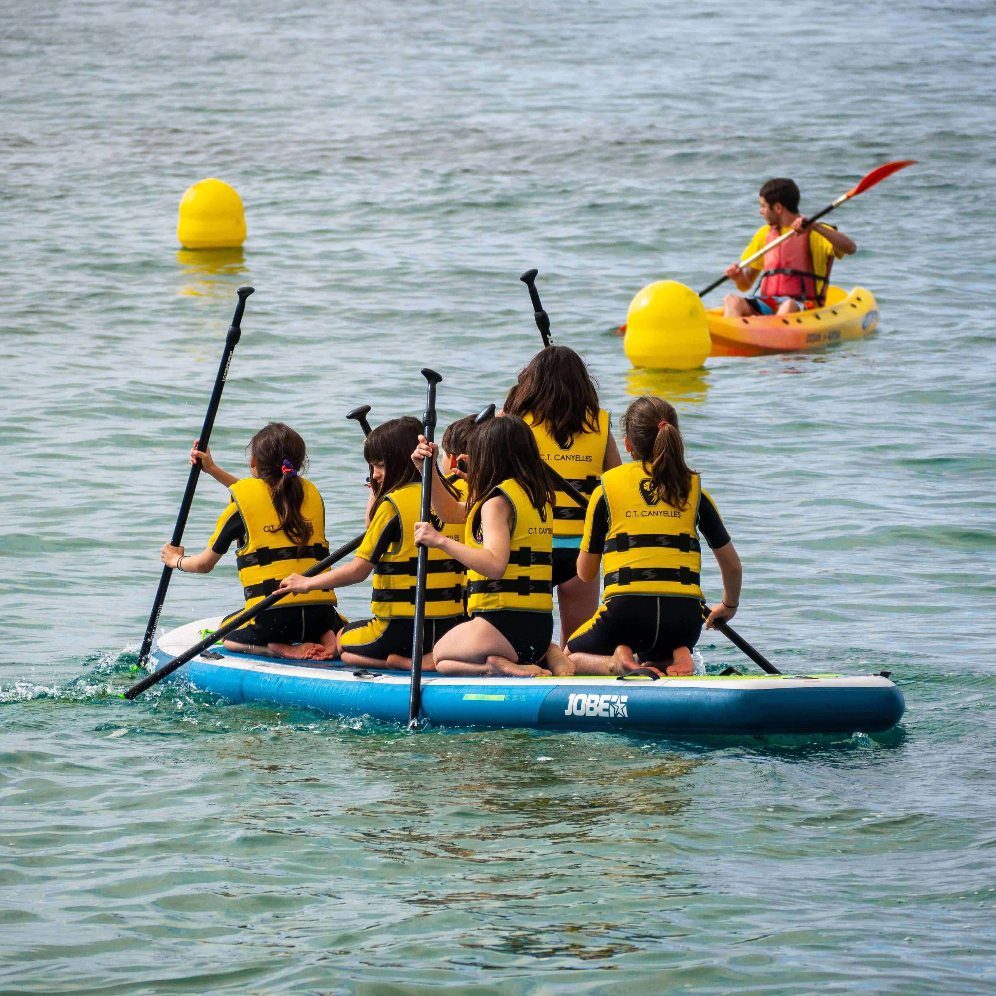 Sea, sun et sports à Cala Canyelles