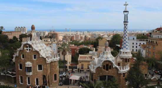 Ambiance Halloween a Barcelone et Port Aventura