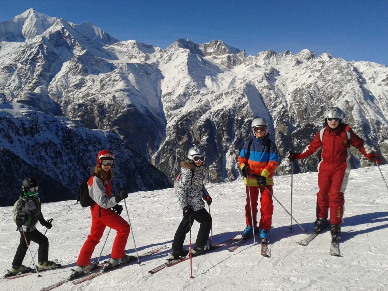 Ski chez les Helvètes
