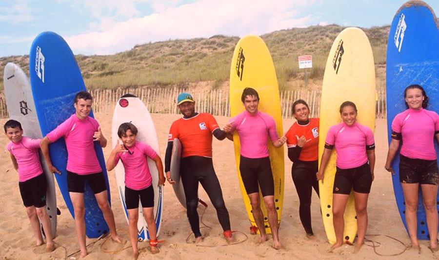 Surf camp ados surf & skate