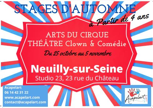 Stage de Théâtre – clown & comédie