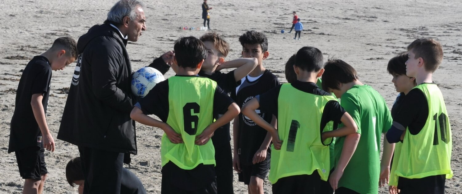 Stage de football hiver
